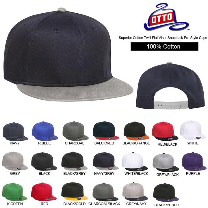 Caps mens Womens Hat cotton 100% OTTO ( Otto ) Snapback flat visor baseball  cap back Asia with plain ys-ot-h1038 0ada2f5bbb0
