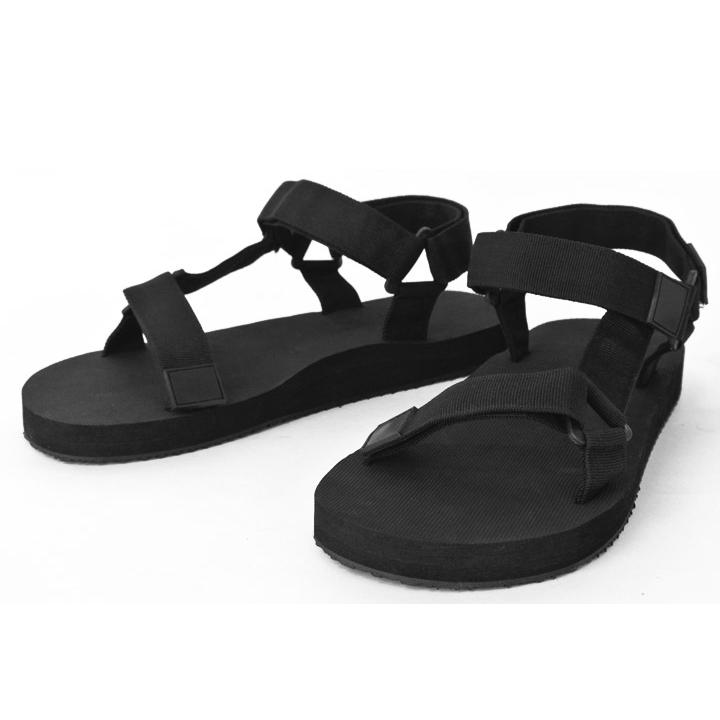 Sport Sandals Men S Strap Flip Flops Shoes Fashion Slip On Velcro Sandal Comfort Heel Casual Simple Sabosandal Designs Black