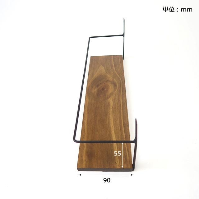 アイアンガード付シェルフSサイズ(壁面収納) 500WORKS.飾り棚 おしゃれ かわいいアイアン ラック シェルフ ウォールシェルフ 棚板(北欧)   oldpain