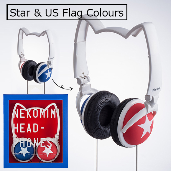 nekomimi headphones mix style cat ear headphones [fashion][Alipay][Unionpay]