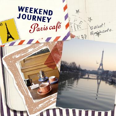 """週末はオシャレに""""パリカフェ""""しませんか? カフェ CD 試聴 WEEKEND JOURNEY - Paris cafe / ウィークエンドジャーニー - パリスカフェ"""