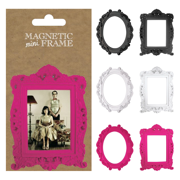 magnetic mini frame magnets interior frame photography fashion cute
