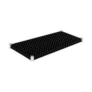 エレクター パンチングシェルフ<ブラック> W75×D45