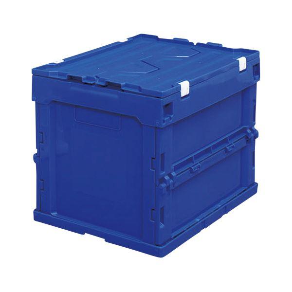 頑丈なフタ付きで内容物をガード 仕分作業や小物整理など多目的に使えます まとめ アイリスオーヤマ ハード折りたたみコンテナフタ一体型 卸直営 HDOH-20L 高級品 ブルー ×2セット 1個入