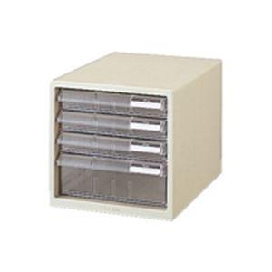 (業務用10セット) プラス レターケース LC-113A A4 浅3深1 ホワイト