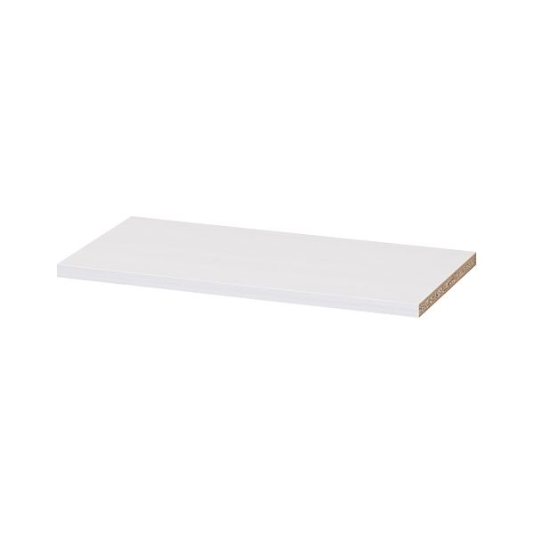 (業務用10セット) 白井産業 木製棚タナリオ 追加棚板 TNL-T87 ホワイト