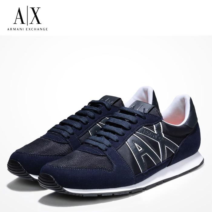 A/X アルマーニ エクスチェンジ シューズ ARMANI EXCHANGE カジュアル 靴 ax634 ネイビー アメリカ正規入荷