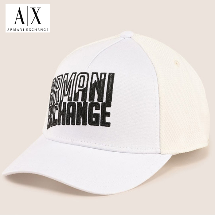 【A/X】アルマーニ・エクスチェンジ・ユニセックスARMANI EXCHANGE 正規キャップ ハット 帽子ax638