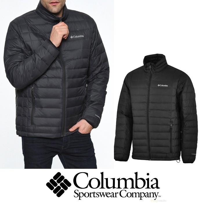 Columbia コロンビア メンズ ダウンジャケット ブラック 口コミで絶賛の保温性高さ colu03