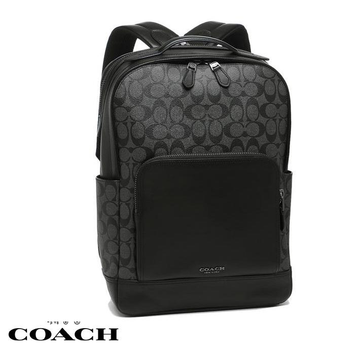 コーチ リュック アウトレット メンズ COACH F38755 QBMI5 グレー ブラック co55