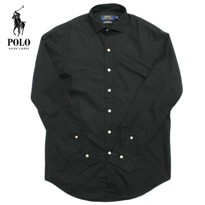 POLO Ralph Lauren ラルフローレン 長袖シャツ ボタンダウンシャツ r480 ブラック