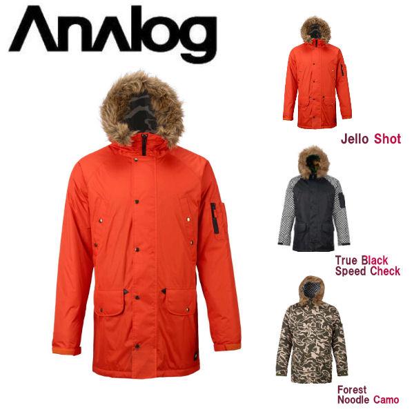 【ANALOG】アナログ 2017-2018 Frazier Jacket メンズ スノージャケット アウター スノーボード S・M・L 3カラー