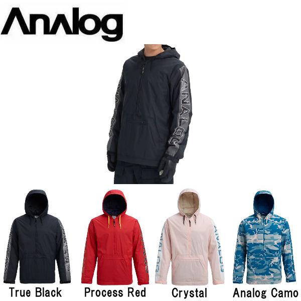 【ANALOG】アナログ 2018-2019 Men's Analog Chainlink Anorak メンズ スノージャケット スノーウェア アノラックジャケット アウター スノーボード S・M・L・XL 4カラー【あす楽対応】