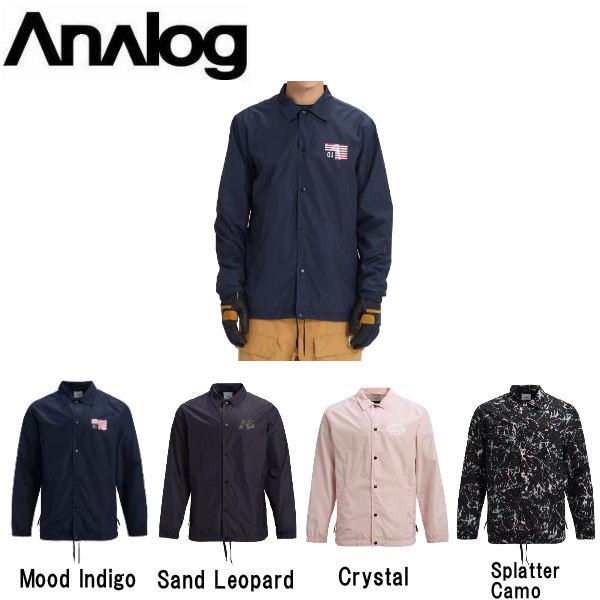 【ANALOG】アナログ 2018-2019 Mens Analog Sparkwave Jacket メンズ スノージャケット スノーウェア コーチジャケット アウター スノーボード S・M・L・XL 4カラー