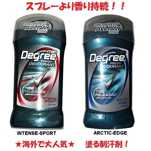 After after sports and a shower! Painting antiperspirant men deodorant stick type /INTENSESPORT, ARCTIC EDGE