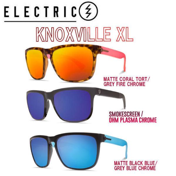 【ELECTRIC】エレクトリック 2017春夏 KNOXVILLE XL サングラス サーフィン フィッシング スケートボード 3カラー【あす楽対応】