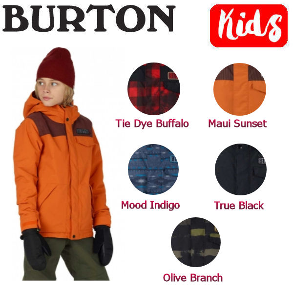 【BURTON】バートン2017-2018 Dugout Jacket ボーイズスノーボードウェア 長袖ジャケット 子供用 XS-XL 5カラー【BURTON JAPAN正規品】【あす楽対応】