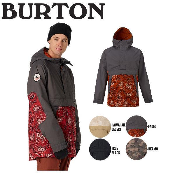 【BURTON】バートン2016-2017 MB RAMBLER ANORAK メンズスノージャケット スノーウエア ウェア スノーボード S-L 4カラー【BURTON JAPAN正規品】【あす楽対応】