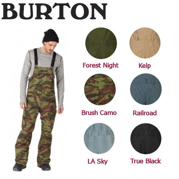 【BURTON】バートン2017-2018 Reserve Bib Pant メンズスノーパンツ つなぎ スノーウエア ウェア 長ズボン XS-XL 6カラー【BURTON JAPAN正規品】【あす楽対応】