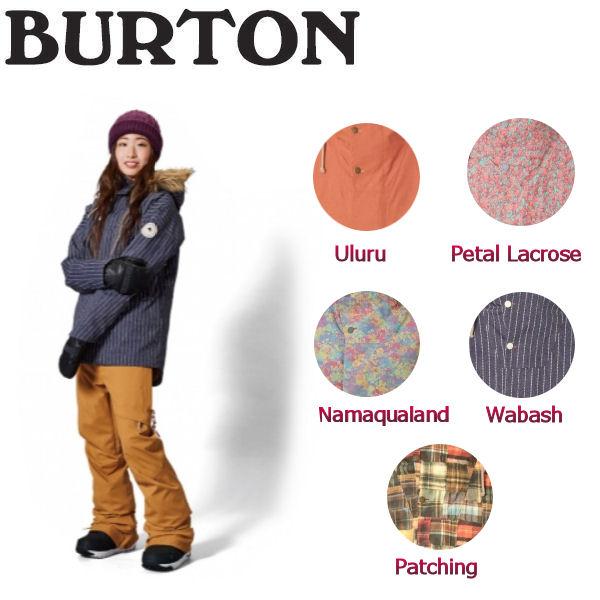 【BURTON】バートン2017-2018 Zinnia Jacket レディーススノージャケット スノーウエア ウェア スノーボード XS-L 5カラー【BURTON JAPAN正規品】【あす楽対応】