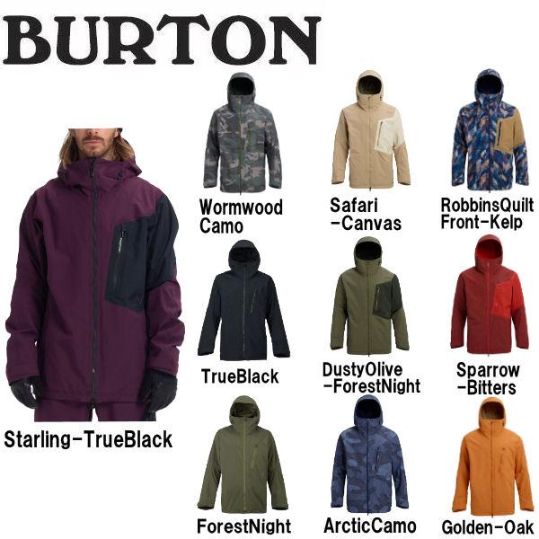 【特典あり】【BURTON】バートン 2018-2019 Men's Burton ak GORE-TEX Cyclic Jacket メンズ スノーウェア ジャケット アウター スノーボード S・M・L 10カラー【あす楽対応】【BURTON JAPAN正規品】
