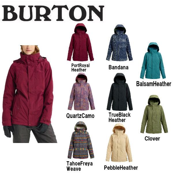 【BURTON】バートン 2018-2019 Womens Burton Jet Set Jacket レディース スノーウェア ジャケット アウター スノーボード XS・S・M 8カラー【あす楽対応】【BURTON JAPAN正規品】