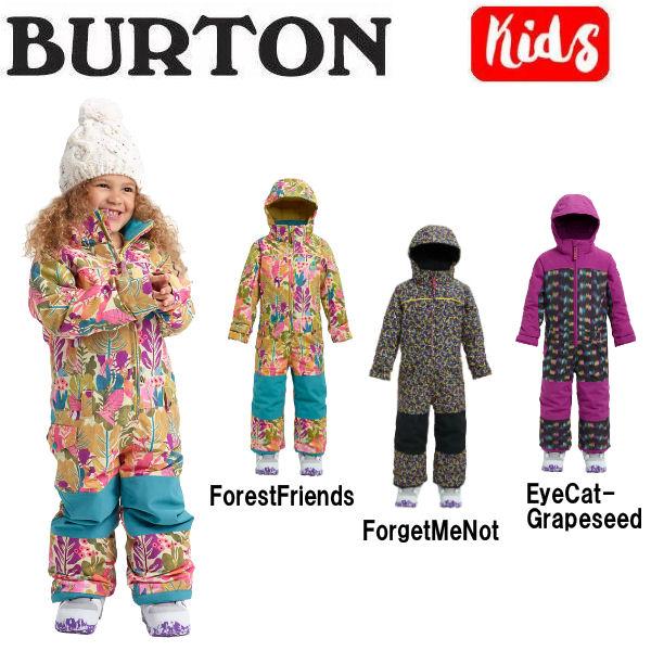 【BURTON】バートン 2018-2019 Girls Burton Toddler Illusion One Piece キッズ 子供用 スノーウェア ワンピース つなぎ スノーボード 18-24m・2T・3T・4T・5/6・7/8 3カラー【BURTON JAPAN正規品】