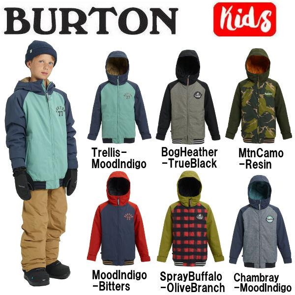 【BURTON】バートン 2018-2019 Boys Burton Game Day Jacket キッズ 子供用 スノーウェア ジャケット アウター スノーボード S・M・L 6カラー【あす楽対応】【BURTON JAPAN正規品】