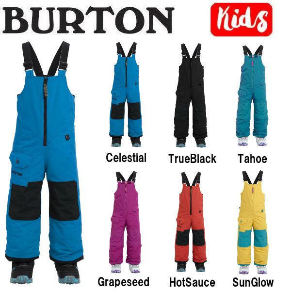 【BURTON】バートン 2018-2019 Toddler Burton Maven Bib キッズ 子供用 スノーパンツ ビブパンツ つなぎ オーバーオール ボトムス スノーボード 2T・3T・4T・5/6 6カラー【BURTON JAPAN正規品】