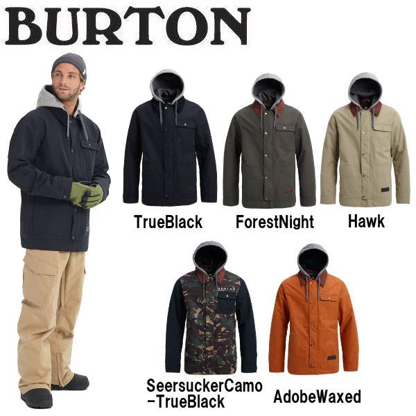 【BURTON】バートン 2018-2019 Mens Burton Dunmore Jacket メンズ スノーウェア ジャケット アウター スノーボード S・M・L 5カラー【あす楽対応】【BURTON JAPAN正規品】