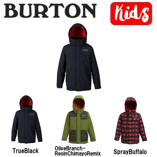 【BURTON】バートン 2018-2019 Boys Burton Dugout Jacket キッズ 子供用 スノーウェア ジャケット アウター スノーボード XS・S・M・L・XL 3カラー【BURTON JAPAN正規品】