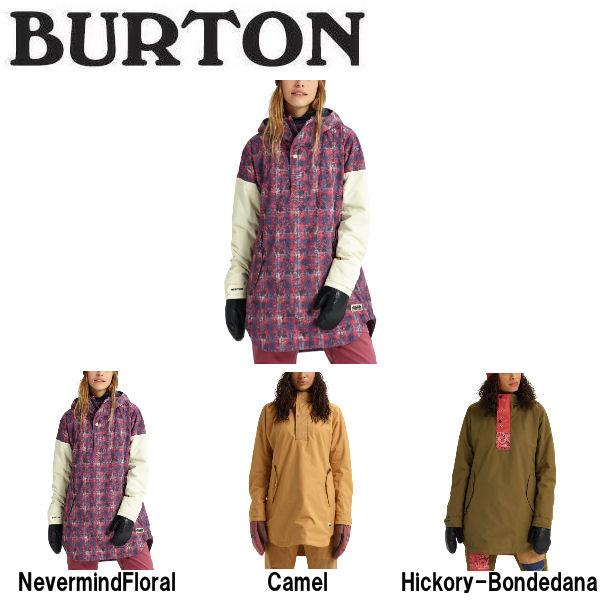 【BURTON】バートン 2018-2019 Womens Burton Chuteout Anorak Jacket レディース スノーウェア ジャケット アウター スノーボード XS・S・M 3カラー【BURTON JAPAN正規品】
