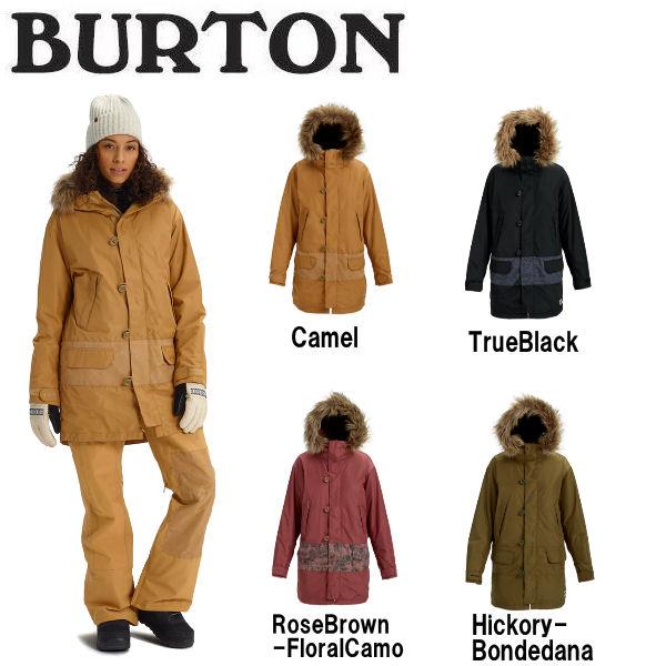 【BURTON】バートン 2018-2019 Womens Burton Shadowlight Parka Jacket レディース スノーウェア ジャケット アウター スノーボード XS・S・M 4カラー【BURTON JAPAN正規品】