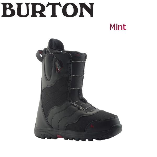 【特典あり】【BURTON】バートン 2018-2019 Mint レディース スノーブーツ スノーボード 靴 アジアンフィット 5.5-7.5 Black【BURTON JAPAN 正規品】【あす楽対応】
