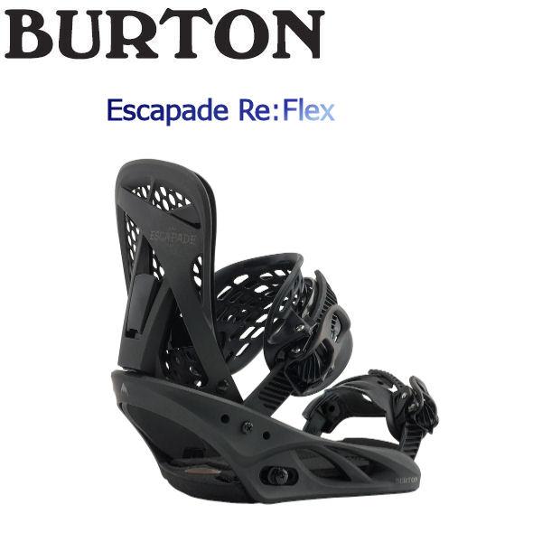 【特典あり】【BURTON】バートン 2018-2019 Escapade Re:Flex レディース ビンディング スノーボード バイン M Fade To Black【BURTON JAPAN 正規品】【あす楽対応】