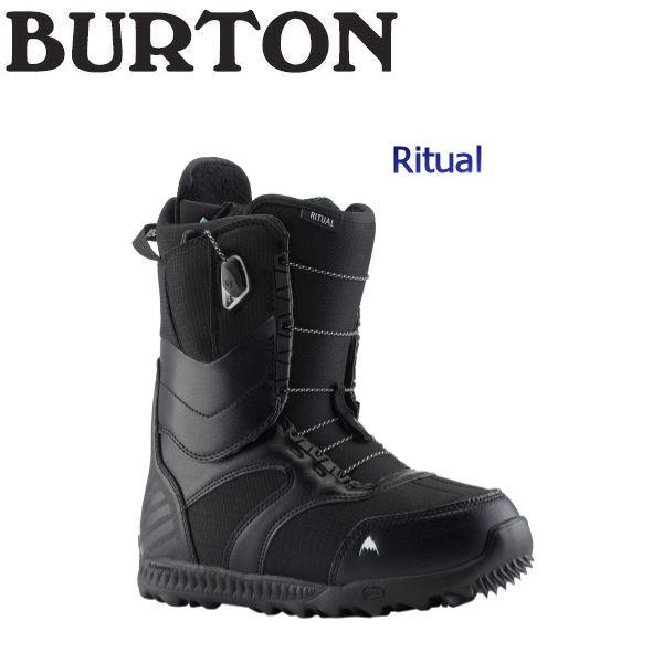 【特典あり】【BURTON】バートン 2018-2019 Ritual レディース スノーブーツ スノーボード 靴 6-7.5インチ Black【BURTON JAPAN 正規品】【あす楽対応】