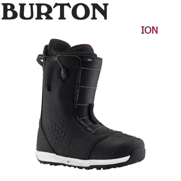 【特典あり】【BURTON】バートン 2018-2019 Ion メンズ スノーブーツ スノーボード 靴 アジアンフィット 7.5-10.5インチ Black【BURTON JAPAN 正規品】【あす楽対応】