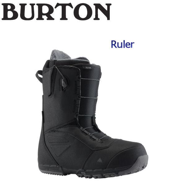 【BURTON】バートン 2018-2019 Ruler メンズ スノーブーツ スノーボード 靴 アジアンフィット 7.5-10インチ Black【BURTON JAPAN 正規品】