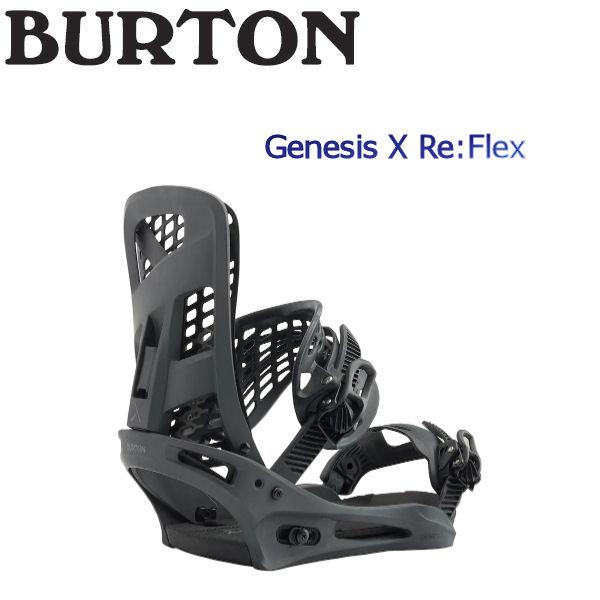 【BURTON Genesis】バートン バイン 2018-2019 Genesis X M Re:Flex メンズ ビンディング スノーボード バイン M Black Matte【BURTON JAPAN 正規品】【あす楽対応】, HYOGO PARTS:c25bfb30 --- sunward.msk.ru