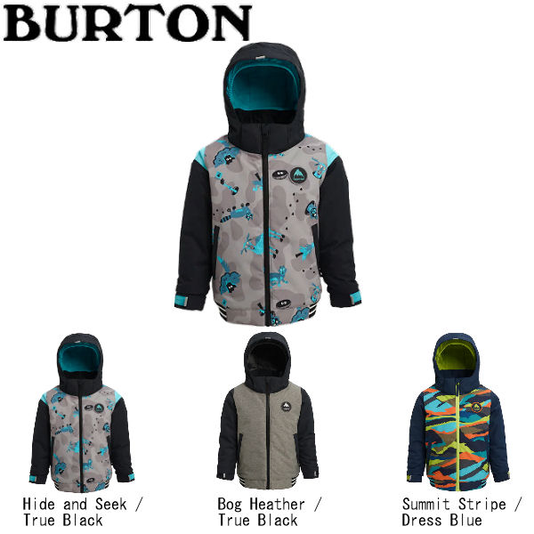 【BURTON】バートン 2019-2020 Boys Burton Toddler Gameday Bomber Jacket キッズ 子供用 スノーウェア ジャケット アウター スノーボード 2T・3T・4T・5/6 3カラー【BURTON JAPAN正規品】【あす楽対応】