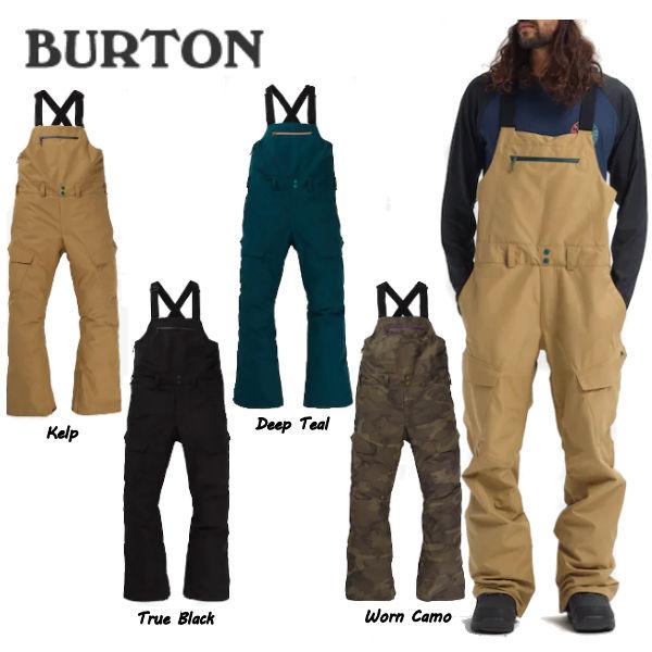 【BURTON】バートン 2019-2020 Mens Burton GORE-TEX Reserve Bib Pant メンズ スノーパンツ ビブパンツ つなぎ オーバーオール ボトムス スノーボード S・M・Lサイズ 4カラー【BURTON JAPAN正規品】