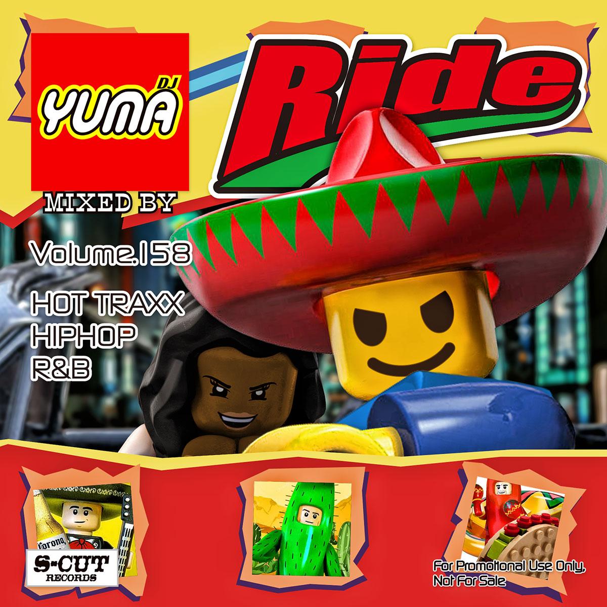 DJ YUMA マート 限定モデル RIDE HIP HOP MIX Volume.158 あす楽対応 CD RB