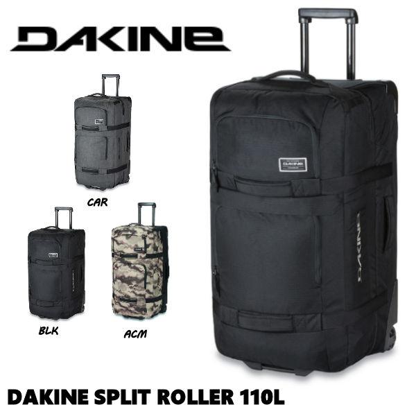 【DAKINE】 ダカイン 2019-2020 秋冬 DAKINE SPLIT ROLLER 110L キャリーバッグ スノーボード ブーツ収納可能 ウイール付き 3カラー 【あす楽対応】