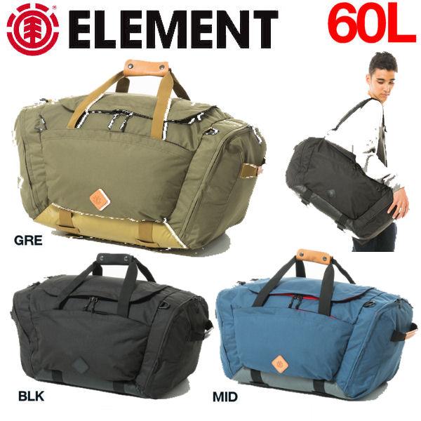 【ELEMENT】エレメント The Convertible Backpack メンズバックパック リュックサック ボストンバック 60L バッグ 鞄 カバン/3カラー【あす楽対応】
