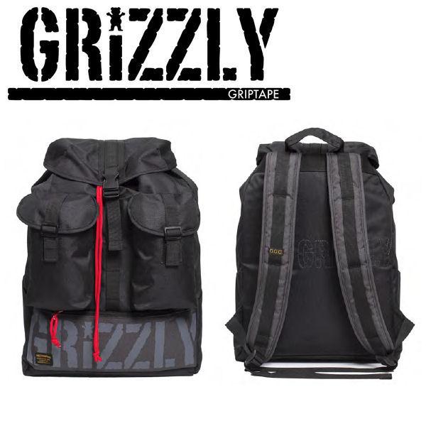 【GRIZZLY】 グリズリー 2017秋冬 Everest Base Camp Bag メンズバックパック リュックサック 鞄 BLK 【あす楽対応】