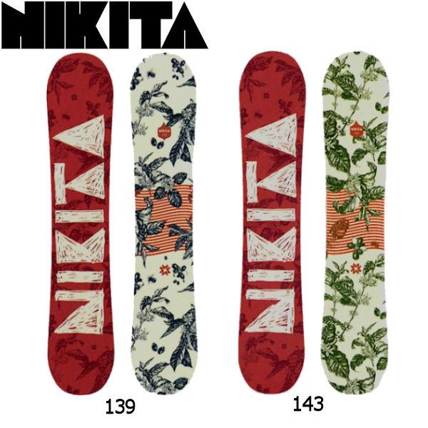 【NIKITA】ニキータ2016-2017 Expressin レディーススノーボード 女性用板 2カラー 139-143cm【あす楽対応】