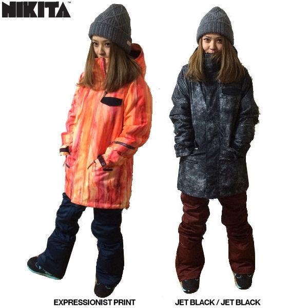 【NIKITA】ニキータ 2015-2016/SIF JACKET レディーススノージャケット スノーボード スノーウェア ウエア/XS~XL/2カラー