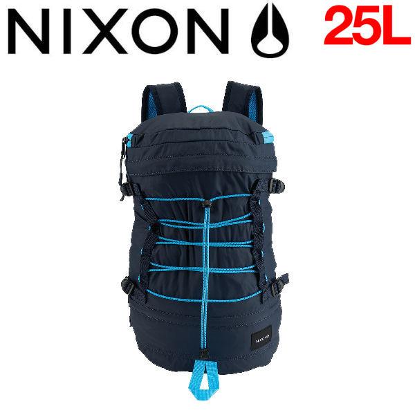 【NIXON】ニクソン2016春夏 DRUM メンズバックパック リュックサック パッカブル バッグ Navy