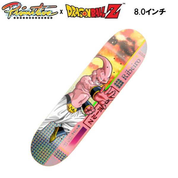 【Primitive】プリミティブ x DRAGON BALL Z ドラゴンボール Z CARLOS RIBEIRO BUU DECK スケートボード デッキ 板 魔人ブウ 8.0インチ【あす楽対応】