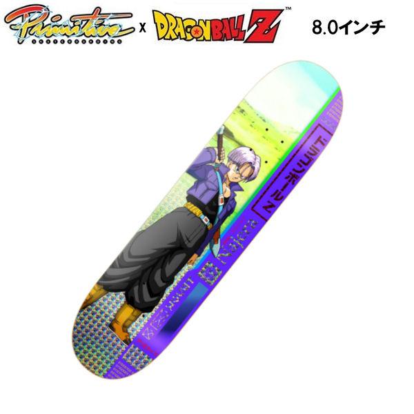 【Primitive】プリミティブ x DRAGON BALL Z ドラゴンボール Z DIEGO NAJERA TRUNKS DECK スケートボード デッキ 板 トランクス 8.0インチ【あす楽対応】